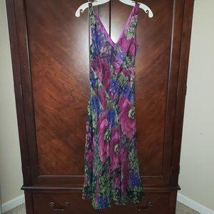 LAUREN by RALPH LAUREN silk dress